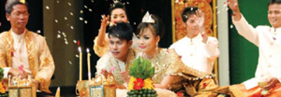Traditional Cambodian Khmer Wedding Ceremonies Khmer Wedding